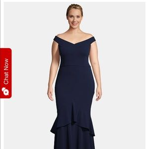 Formal Navy Gown - Plus size *NWT*